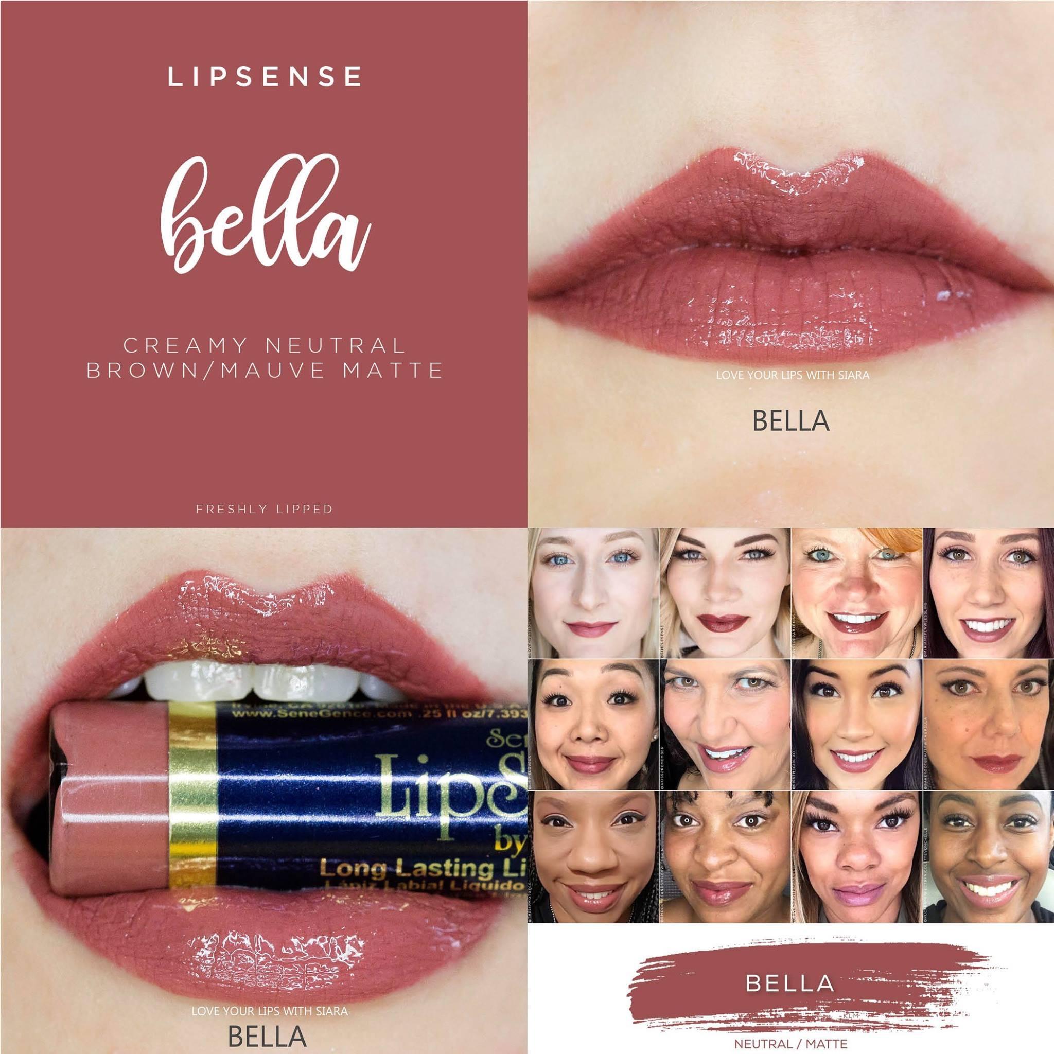 Bella LipSense Collage