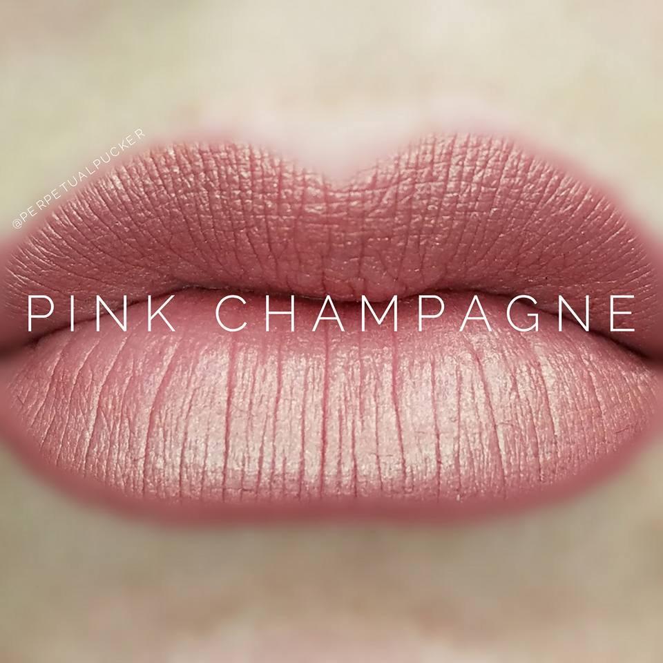 Pink Champagne LipSense Matte Gloss