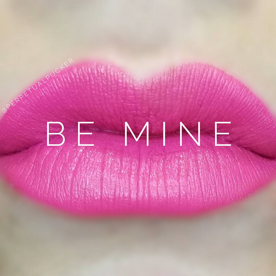 Be Mine LipSense Matte Gloss