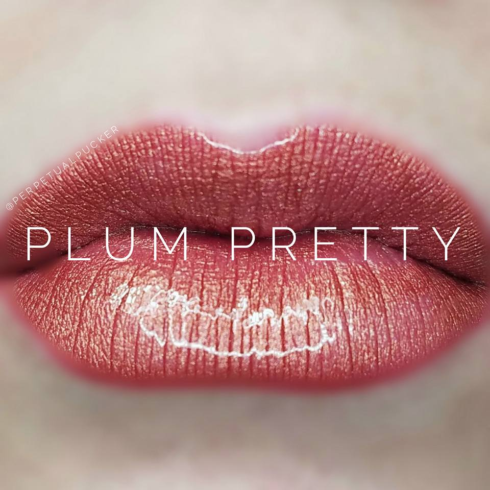 Plum Pretty LipSense Glossy Gloss