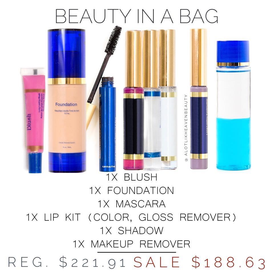 SeneGence Beauty In A Bag