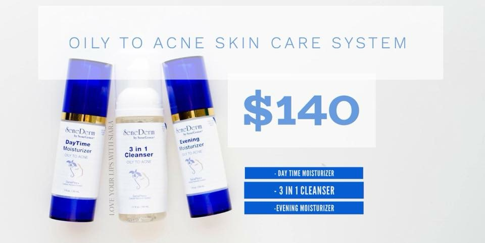Oily to Acne Skin Care System