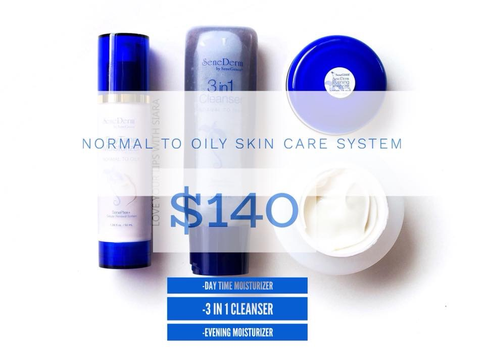 Normal to Oily Skin Care System