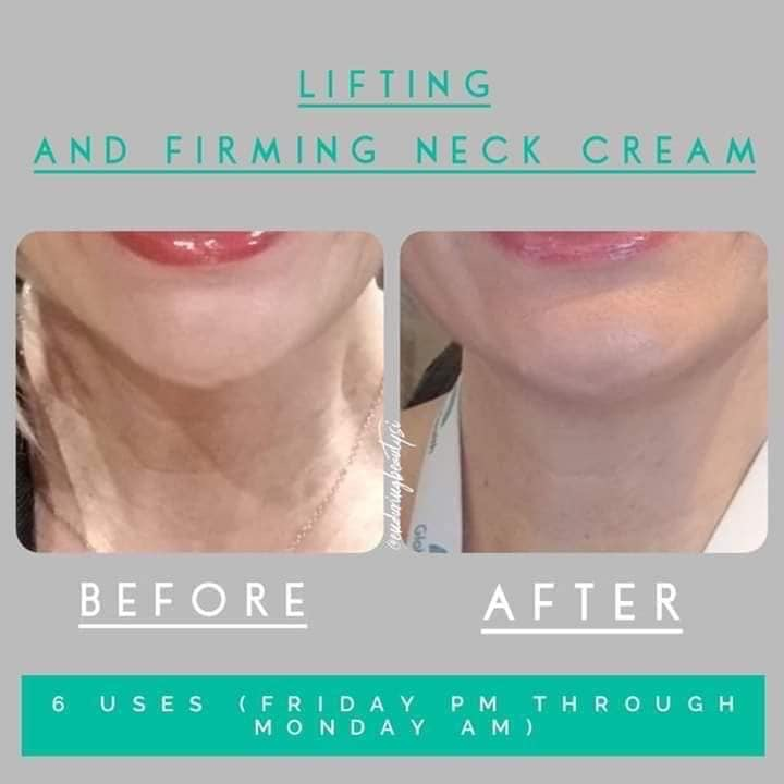 SeneGence Lifting and Firming Neck Cream Review.JPG