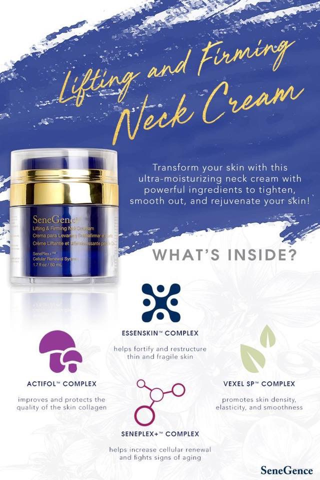 TRANSFORM YOUR SKIN - ULTRA MOISTURIZING NECK CREAM WITH POWERFUL INGREDIENTS TO TIGHTEN, SMOOTH OUT AND REJUVENATE YOUR SKIN.