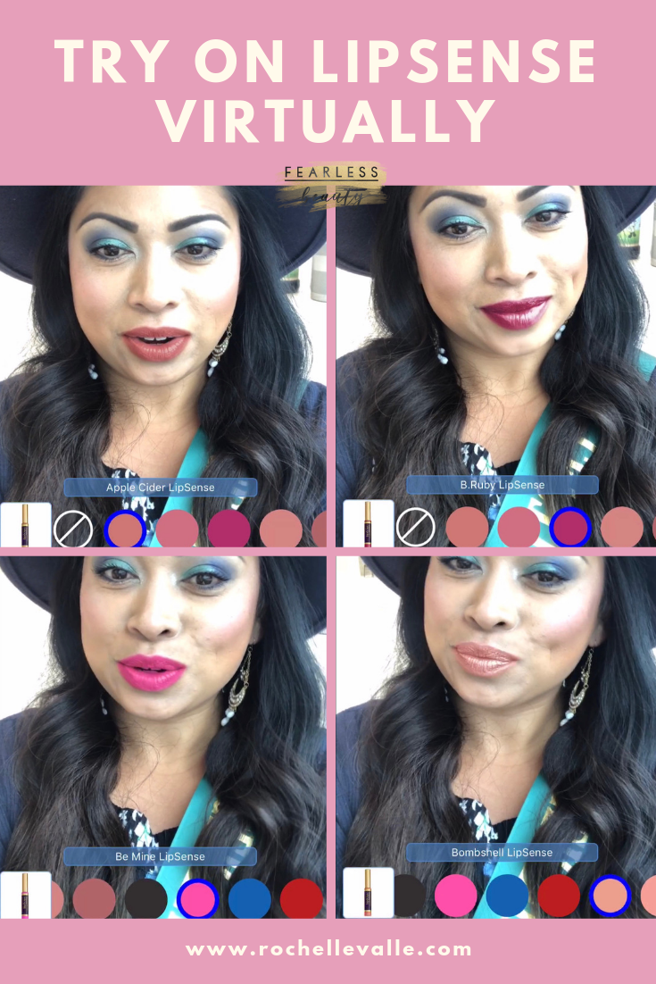 Try On Lipsense Virtually with Mobile APP SeneLook