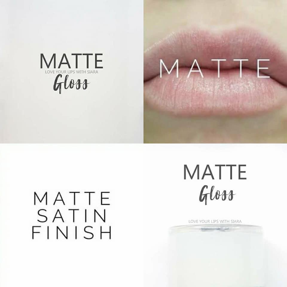 Lipsense Matte Gloss