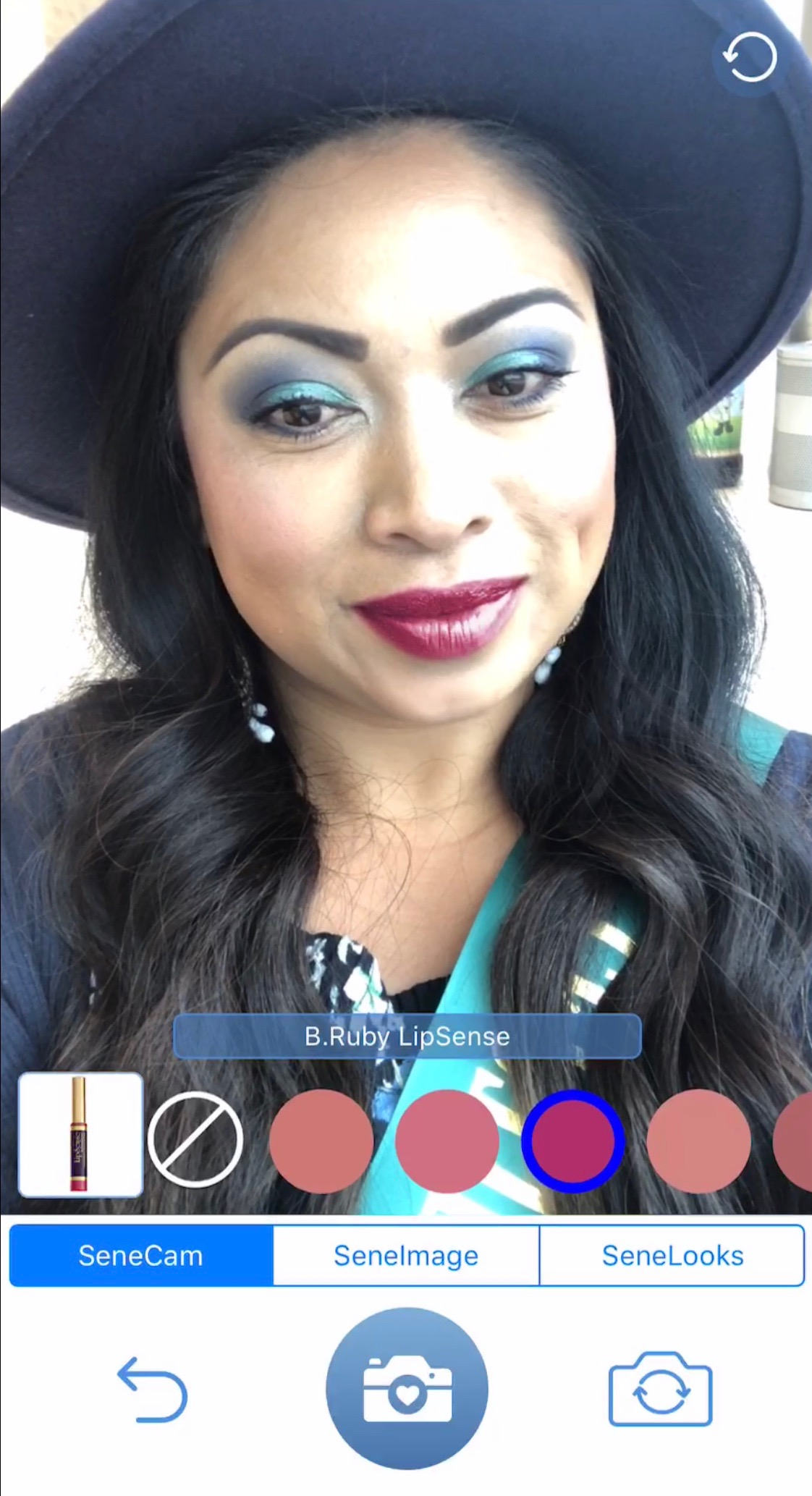 SeneGence New SeneLook App - Try on Lipsense, ShadowSense, Translucid Powders, Blushsense, and Sense Cosmetics Virtually.