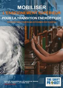 MOBILISER L'ENSEIGNEMENT SUPÉRIEUR POUR LA TRANSITION ÉNERGÉTIQUE - Rapport intermédiaire