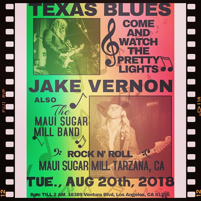 Come out and party with us starting at 8PM in Tarzana 🎸 #rasta #rocknroll #jakevernon #jakevernonmusic #fender #gibson #marshall #vox #martin #larocknroll #losangeles #originalmusic #blues #country #reggae #gospel #mauisugarmill #ganja #maryjane #love #respect #unity #onelove #texas #losangelesmusicians #riptompetty #saverocknroll #nodjs #maui