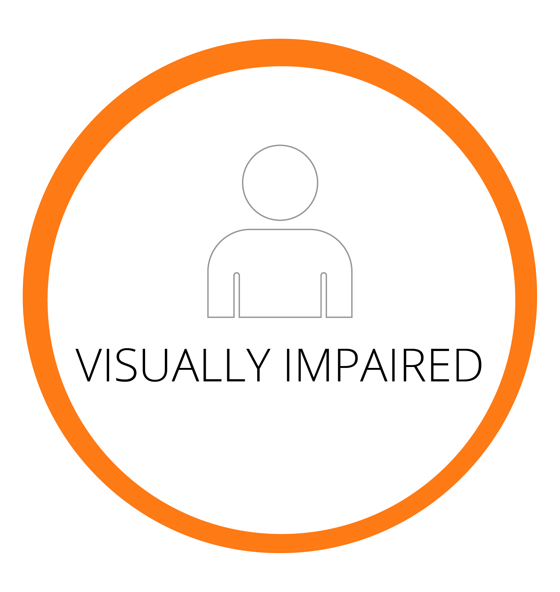 23.7 MILLION PEOPLE ARE VISUALLY IMPAIRED IN THE UNITED STATES ALONE