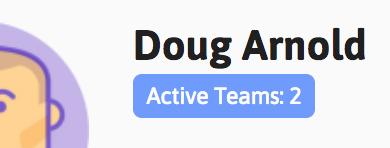 Active teams