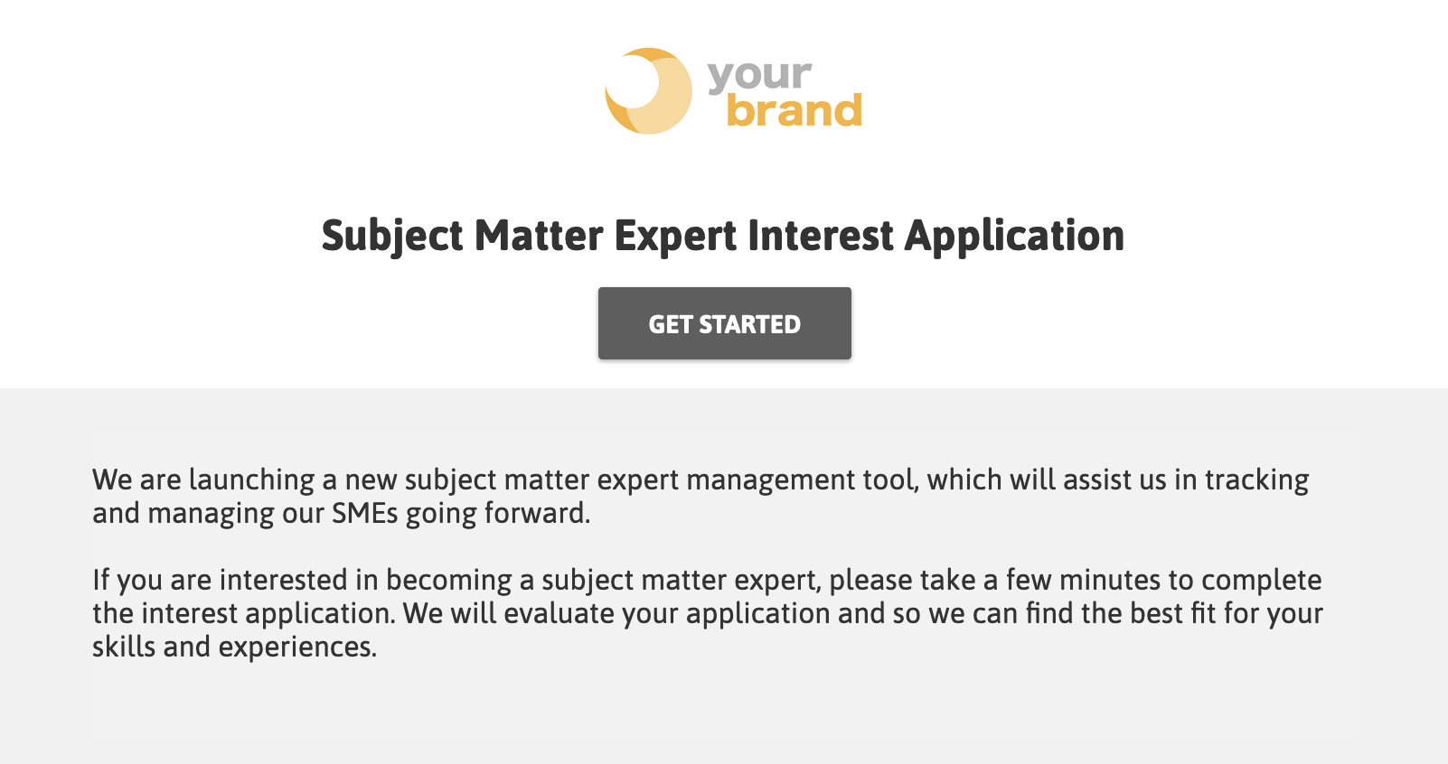 Application introduction