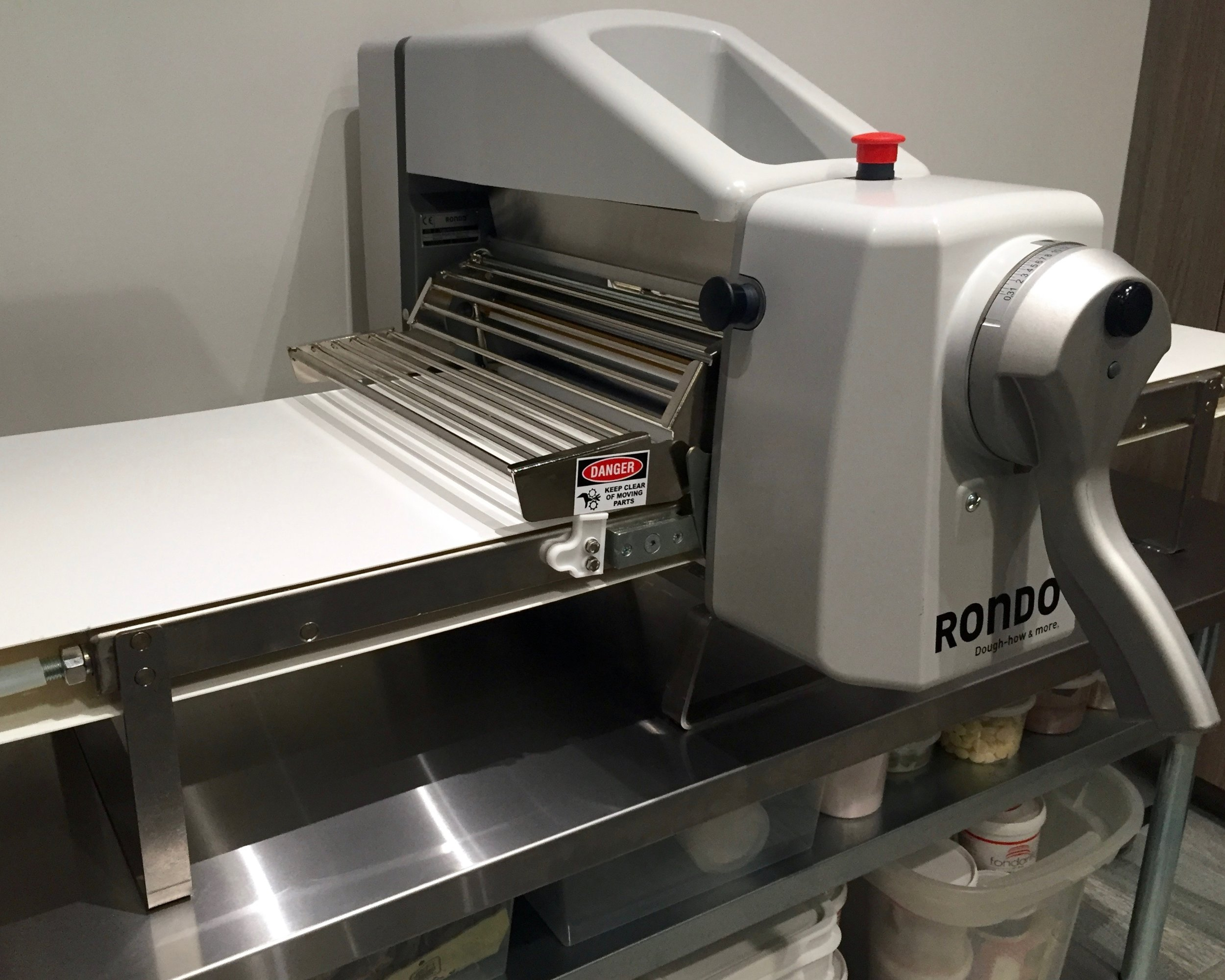 Rondo sheeter in kitchen studio