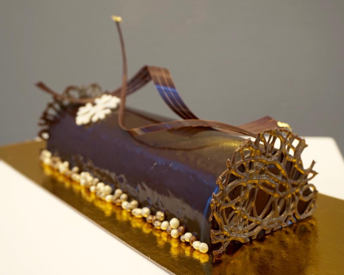 Buche de noel made by Gusta Cooking Studio