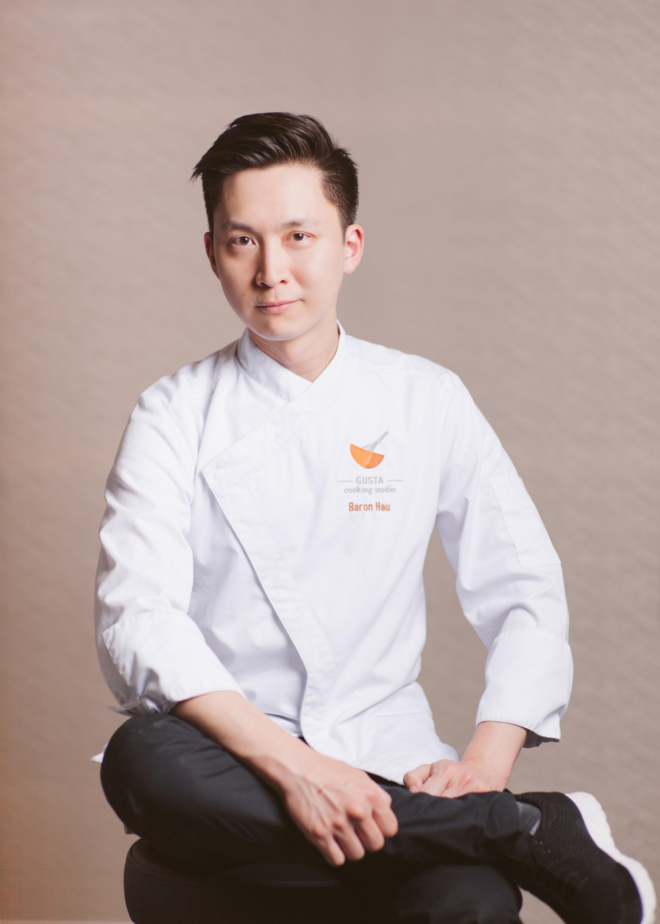 Baron Hau, founding instructor at Gusta Cooking Studio