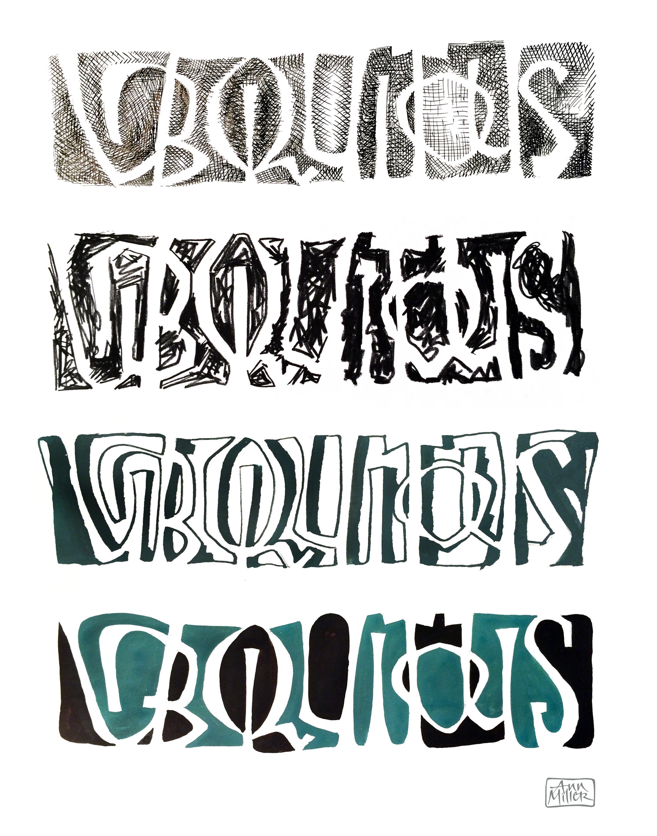 Letterform Treatments