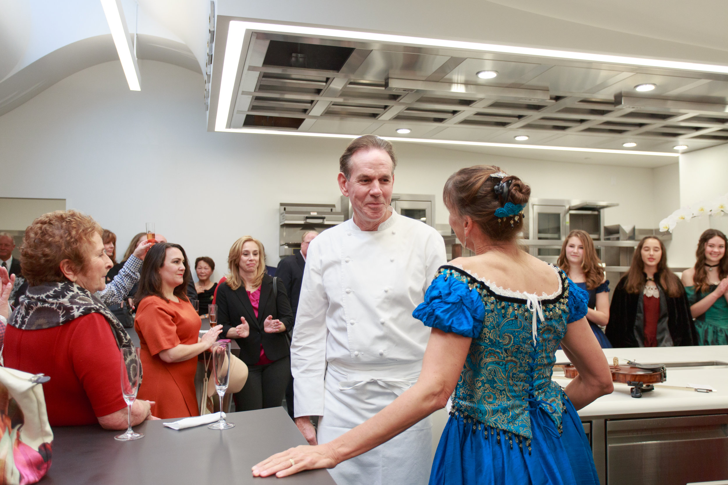 VOENA with Chef Thomas Keller at The French Laundry Fundraiser.