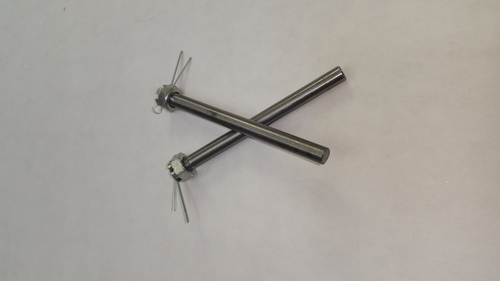 "H9  1/4 Scale Solid Axles (1/4"") 