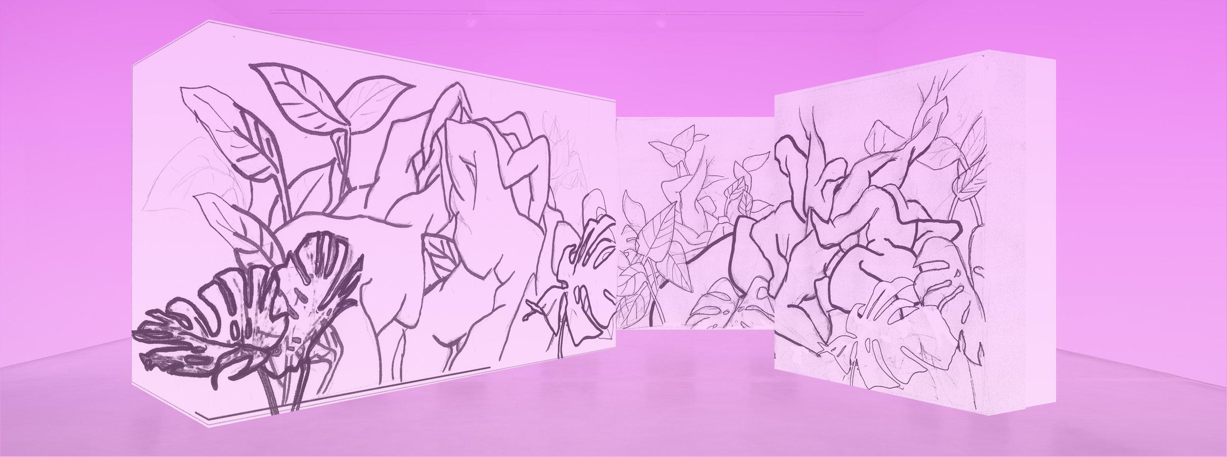 "Sketch for ""Afterlight"""