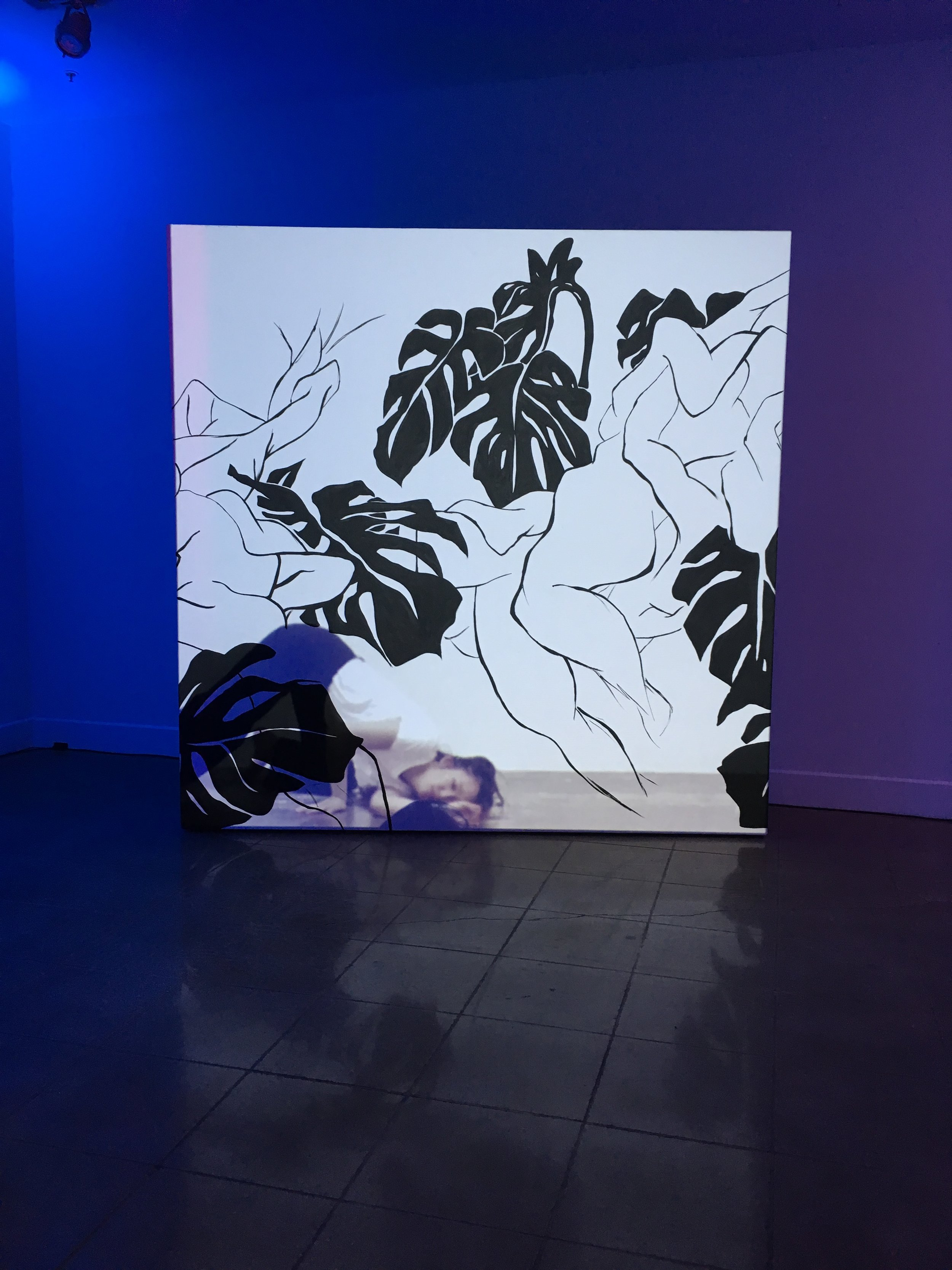 """Installation View of """"Afterlight"""""""