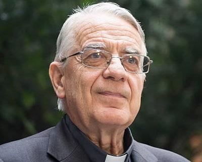 Fr. Federico Lombardi s.i.  Former head of the Vatican Press Office, former papal spokesman, and President, Joseph Ratzinger-Benedict XVI Vatican Foundation