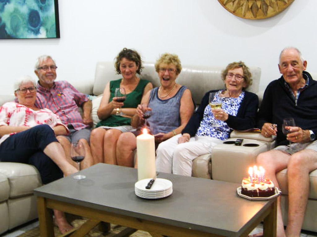 We celebrate Peter's birthday