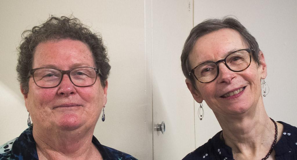 Margaret Curnow and Maureen Pratchett, second overall