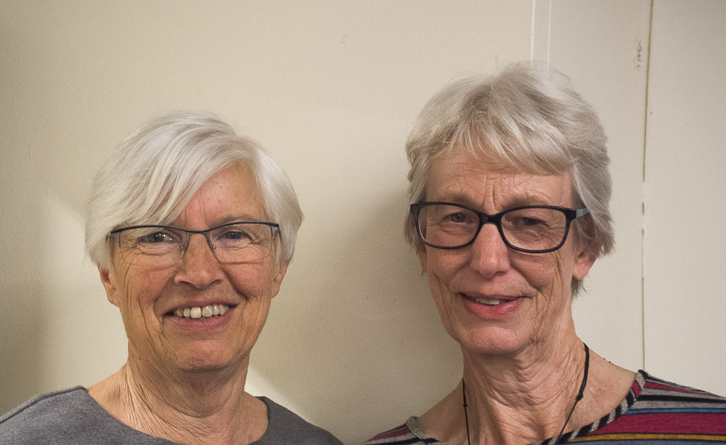Alison Beer and Alison O'Dea, third overall