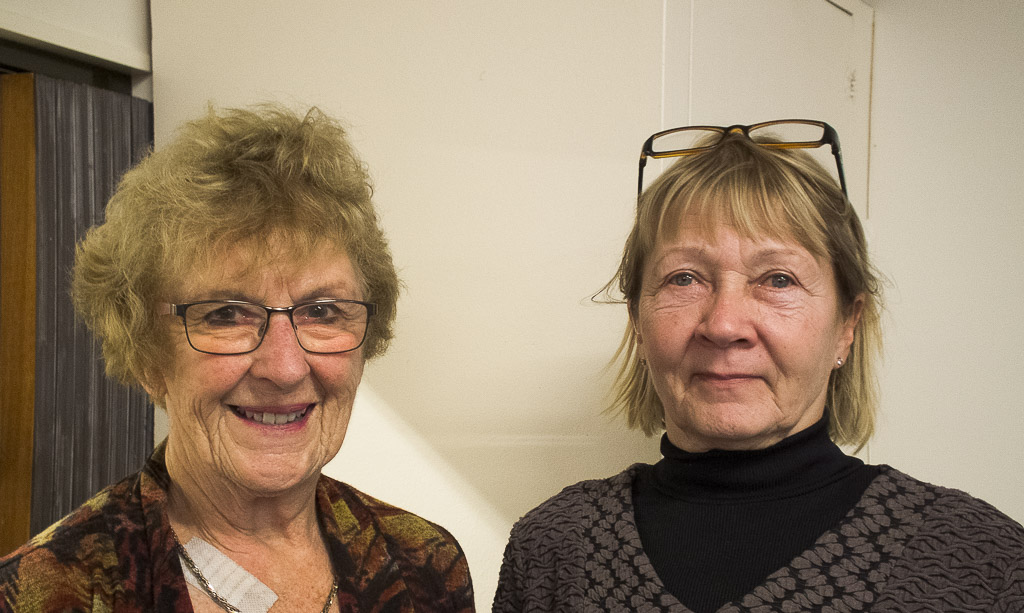 Anne Verboeket and Anne Wolf, top Intermediate Pair