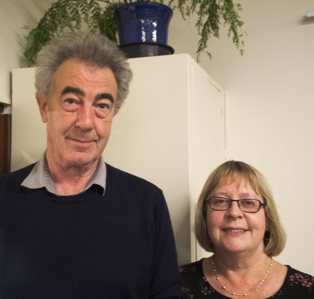 Paul Maxwell and Gail Tippett, session prize winners