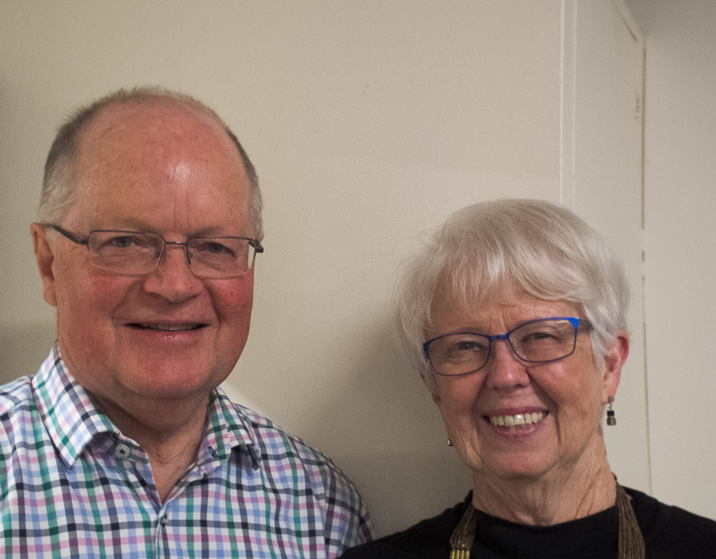 Graeme Dick and Margaret Dick, session prize winners