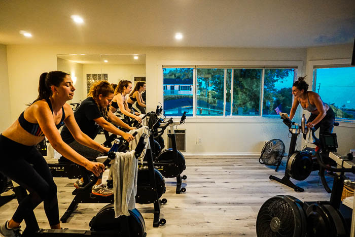 CYCLING CLASSES - Join us in our ocean view cycling studio for a new and intelligent approach to training, using Concept-2 bikes for a variety of endurance and interval workouts.