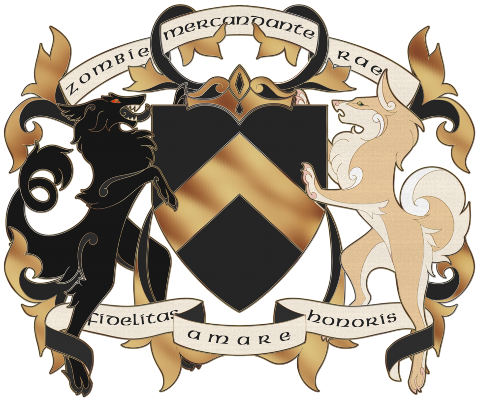 Giveaway Prize includes: 1 Consultation for the overall design to make it represent YOU 1 to 2 Custom illustrated Heraldic Supporters 1 Escutcheon 1 to 3 tinctures - Metals/Colors/Furs Choice of Field pattern/Divisions/Ordinaries 1 Basic Charge Symbol (optional) 1 Helm & Crown 1 Crest 1 Motto banner (can be used for slogan or name as well) 1 set of mantling Any other unmentioned Heraldic features can be discussed as well.  Please note, I am no expert on designing heraldry. This artwork would be purely for the enjoyment of the giveaway winner. They could make it official for themselves, but I don't think it's something you can get officially registered. The rights to the artwork remain under the ownership of Nova Nocturne Art. The winner has the right to personal use, barring reproduction, of the artwork. Any form of reproduction of the artwork must be approved by Nova Nocturne Art.