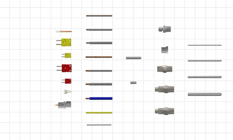 Thermocouple Sensor Probes