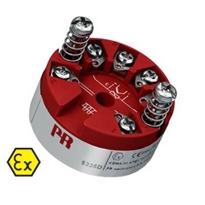 HART TC/RTD Temperature Transmitter Puck Model 5335D -
