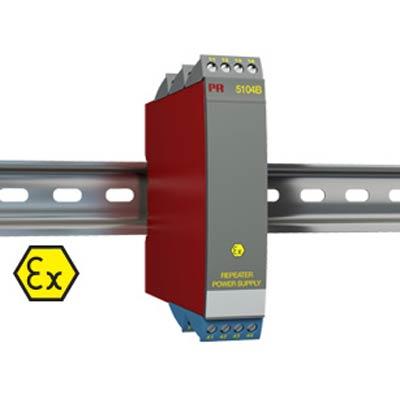 Intrinsically Safe Isolator Model 5104B -