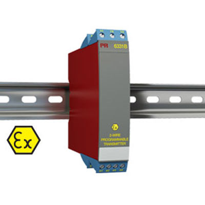 Intrinsically Safe Temperature Isolator Model 6331B -