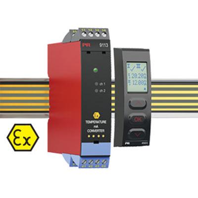 Intrinsically Safe Temperature Isolator Model 9113B -