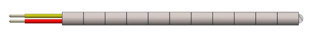 Ceramic Bead Thermocouple Sensor Probe Model TC12BT (PDF) -