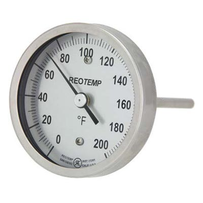 Back Connect Bimetal Thermometer (PDF) -