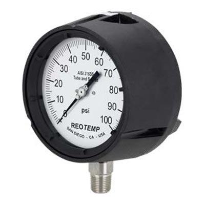 "4.5"" Phenolic Process Pressure Gauge (PDF) -"
