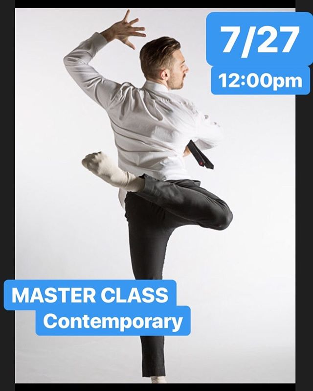 "We're so lucky to have @thom_dancy joining us in the studio this weekend for a Master Class in Contemporary technique!! Come dance with us Saturday from 12:00 - 2:00 for just $25!! . . ABOUT THOM - Thom has been labeled as an ""artist to watch"" by the St. Louis Post-Dispatch with choreography of ""great wit and invention"" (Third Coast Daily). His work can be seen on ballet and contemporary dance companies across the midwest such as Milwaukee Ballet 2, Danceworks Chicago, and Grand Rapids Ballet. . . Thom has danced with Milwaukee Ballet, Grand Rapids Ballet, The Big Muddy Dance Company, Malashock Dance, and The Muny, the nation's largest regional equity theater. Thom has also worked as an audition assistant for The Muny, The Big Muddy, and Malashock Dance. He has danced soloist roles in works by Robert Moses, Kevin Jenkins, Brian Enos, Kate Skarpetowska, Harrison McEldowney, Penny Saunders, Olivier Wevers, Gerald Arpino, George Balanchine, John Malashock, and Khamla Somphanh. Thom has traveled the United States as a choreographer and teacher and is a proud member of the Actors' Equity Association. . . #dance #dancemaking #moves #sandiegodance #contemporary #contemporarydance #sandiego"