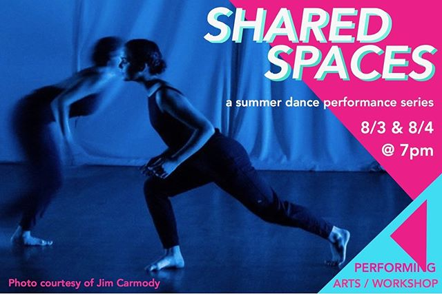 Tonight is the night!! Join us at 7pm for #sharedspacesatpaw !! Tickets $10 and still available at the door!! . . Join @brittonyaaa  @tanyalewisdance @luislopez033080 @seasteenmoves @nrcollective @bripilkinton  Produced by @heatherinca and facilitated by @litvakdance and @dancepaw. . . Please note this performance contains strong politics views. Adult beverages available for adults. . . See you there!! . . 📸 courtesy of the amazing @jimcarmodyphoto