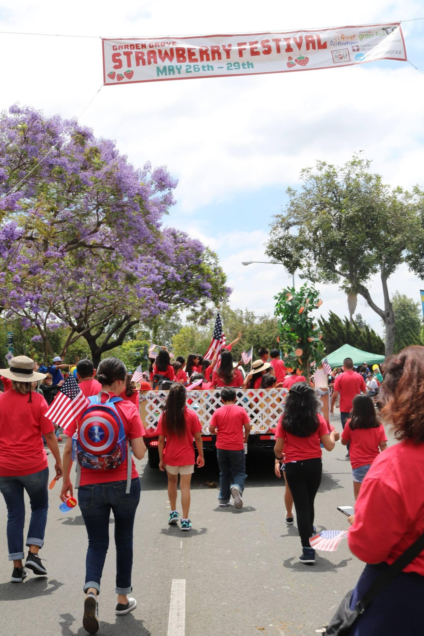 Strawberry Festival Parade 2017