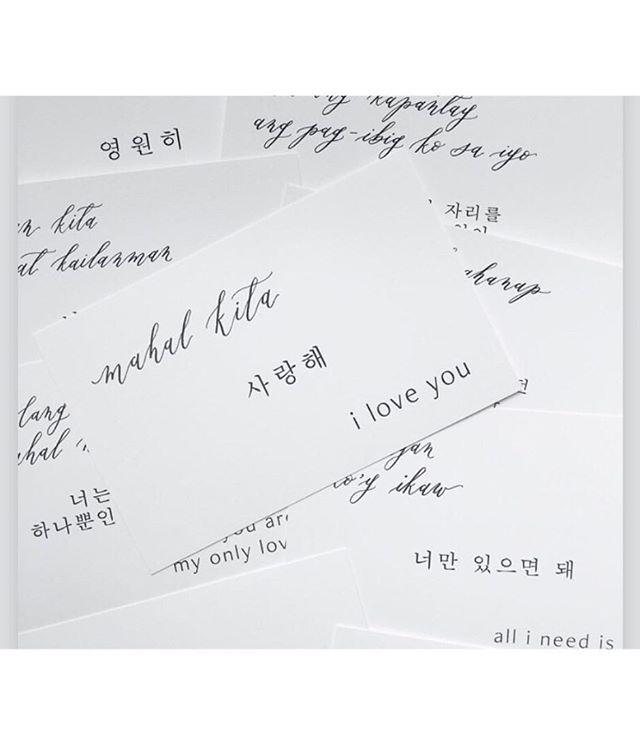 @ettiekim her beautiful work will be part of our centerpieces at each table. #calligraphy #weddingcalligraphy #kopino #notsureifthatsathing #korean #filipino #bridetobe #weddingplannerbride . . . #chicdahliaweddings #weddingseason #wedding #smpweddings #engaged #theknot #stylemepretty #weddingwire #loveintentionally #weddingplanner #phillywedding #phillyweddingplanner #phillyweddings