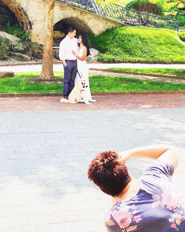 hot day for an engagement shoot! 📷 @ashleygerrityphotography 🐾@shibacoopercruz #engagementphotos #weddingseason #wedding #engaged #theknot #weddingwire #loveintentionally #weddingplanner #phillywedding #phillyweddingplanner #phillyweddings #chicdahliaweddings #chicdahliacouple #realwedding #shesaidyes #heputaringonit #instawedding #philadelphiaweddingplanner #philadelphia #philly