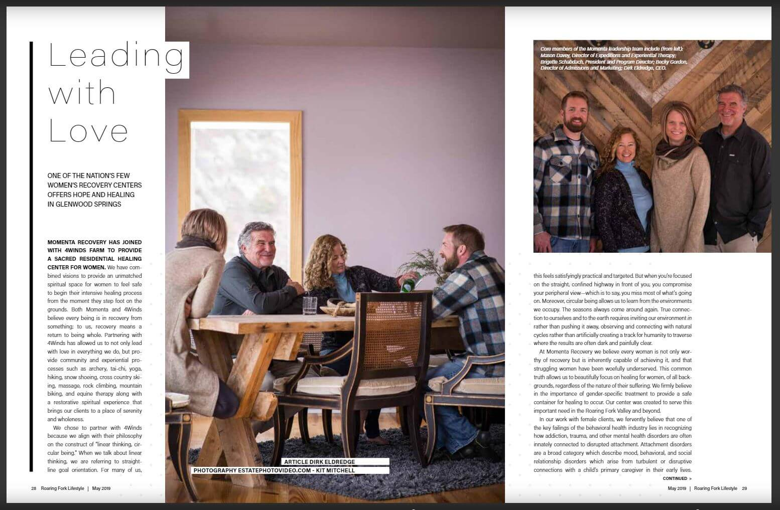 Roaring Forks Article May 2019
