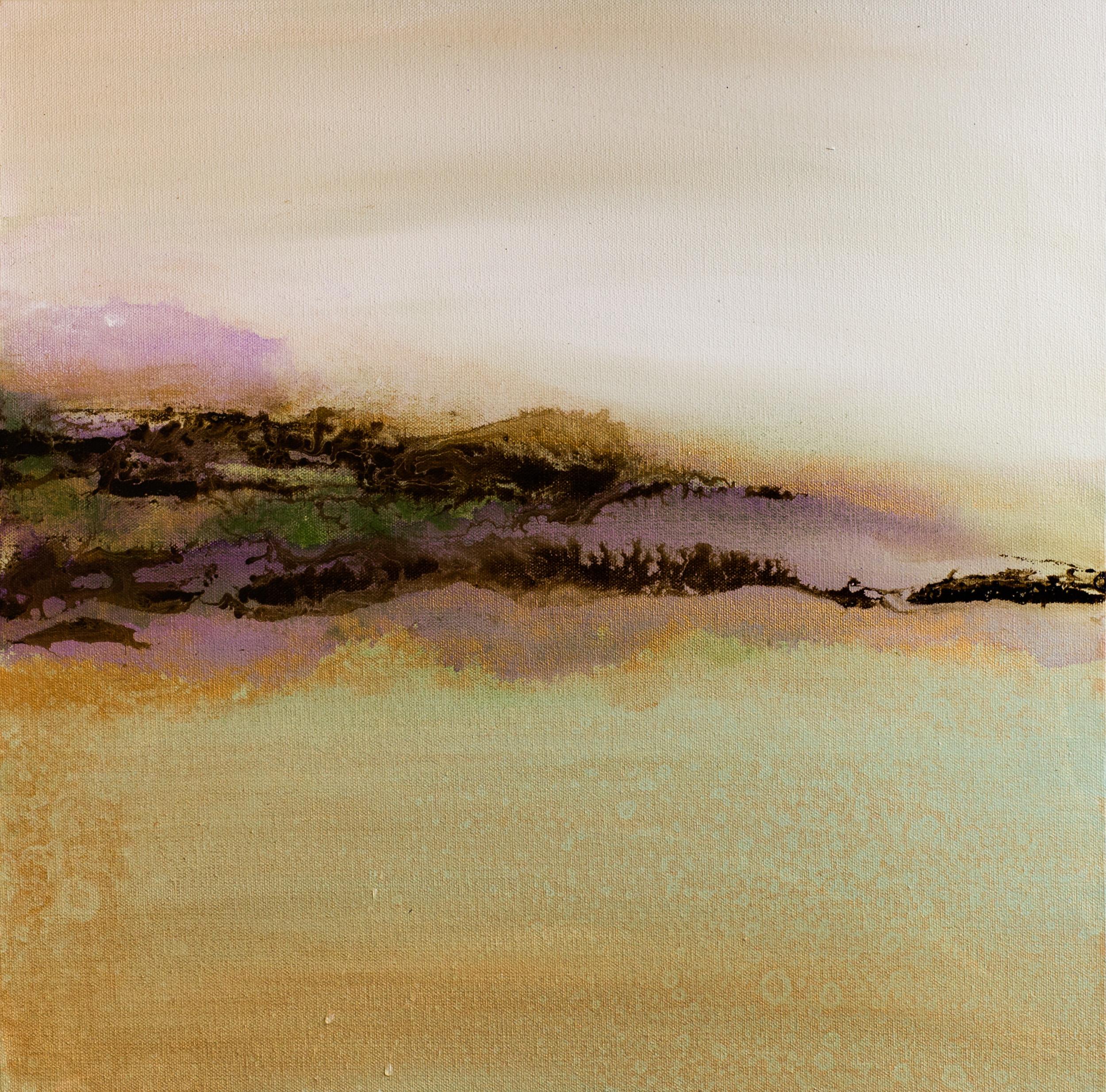 """Lavender Hills"" 20x20"