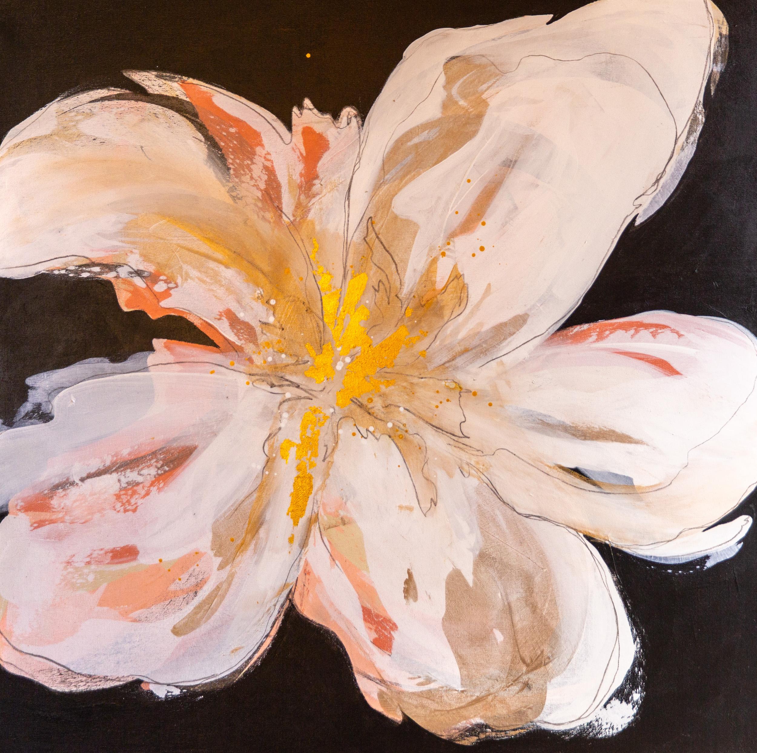 """""""Big Bloom II"""" 36x36"""